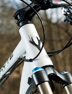 largely unchanged  from 2010, but the new frame does see a tapered head tube