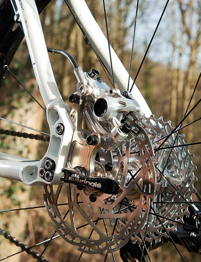 The drop-outs let you run geared or singlespeed easily