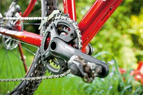 A smaller cog here would be a benefit to less than fit riders