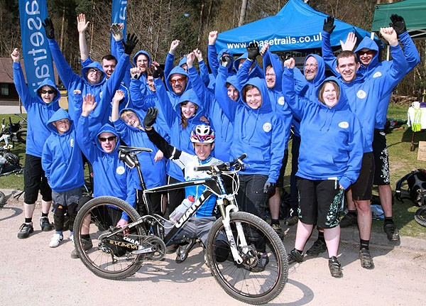 Mountain biking fans are now able to place their vote and help UK trail building
