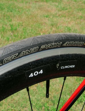 Continental Grand Prix 4000 tires provide an excellent blend of grip and ride quality