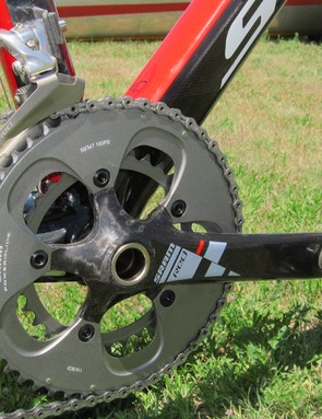 Scott offer the FOIL Team Issue with either compact or standard drivetrains