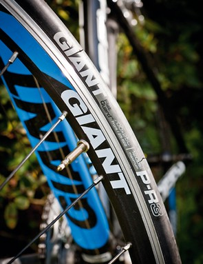 The heavy Giant own-brand wheels and tyres are worth upgrading ASAP though