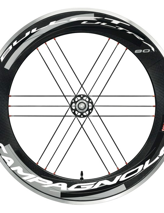 The Bullet Ultra 80 G3 rear wheel with 'Dark' graphics