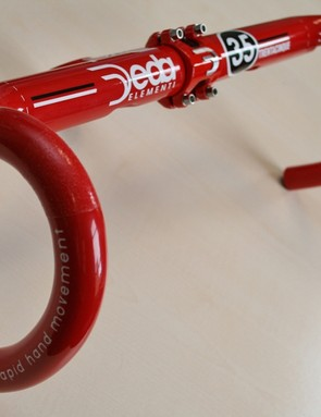 Deda Elementi's new M35 bar has a 35mm top - a normal 'oversize' bar is 31.8mm