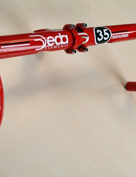 Deda Elementi M35 bar and Trentacinque stem