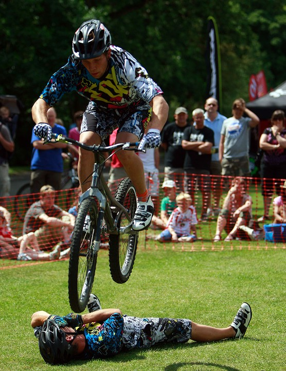 Skills shows are popular part of the Cliffhanger festival