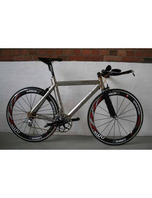 Burls titanium time trial bike