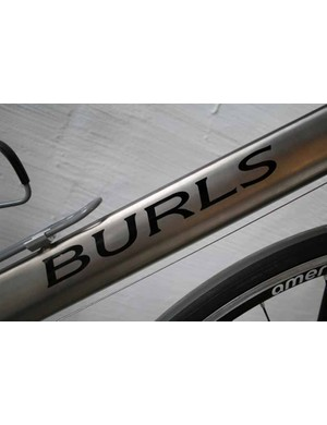 Burls titanium road bike