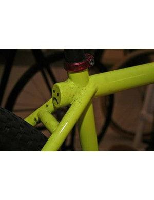 Ted James Designs fixed-gear trick bike
