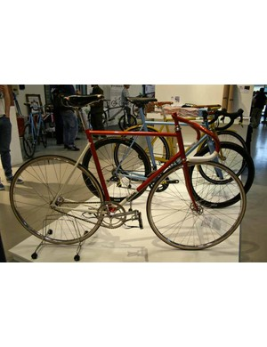 Norwich-based Donhou Bicycles had three elegant-looking machines on show - a track bike, road bike and belt-driven commuter