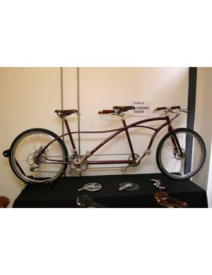 Paulus Quiros Design had this tandem on show...