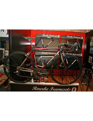 Rourke Framesets had a good-looking booth