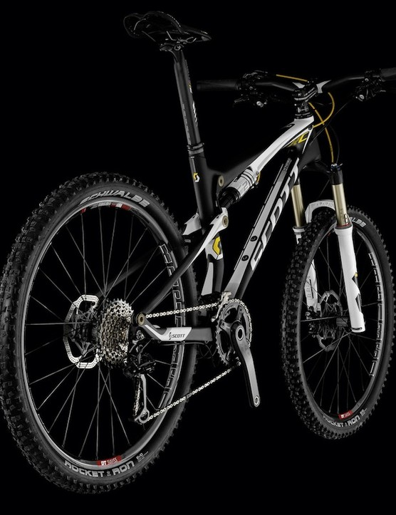 The standard Spark RC models are molded from Scott's highest grade HMX carbon