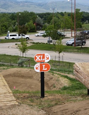 While meant for the public, Valmont Park is not 'dumbed down'; it has big features that aren't for every rider