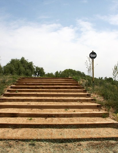 Of the many features, the World Cup level cyclo-cross course's Belgian Steps, positioned exactly 1-mile above sea level