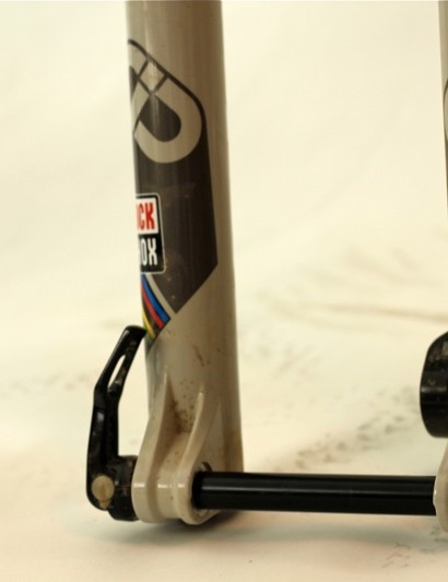 RockShox's SID 29 World Cup XX fork with Keronite finish and 15mm through axle