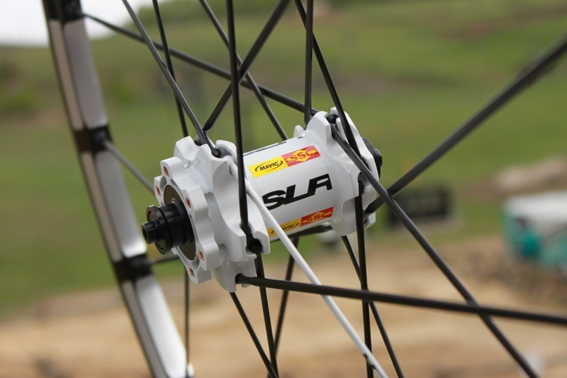 The hub profiles change significantly for 2012, especially on SLR; the flanges are smaller and the 6-bolt disc mounts are improved to better deal with braking forces
