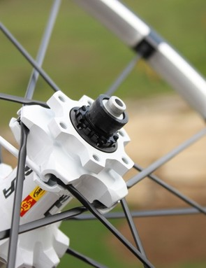 All of the Crossmax hubs feature adjustable QRM+ bearings
