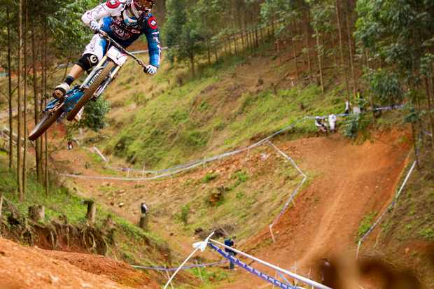 Episode two sees Gee in action at the opening World Cup round in Pietermaritzburg, South Africa
