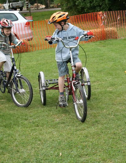 Trikes are ideal for those with balance or confidence issues which make two-wheeled riding difficult