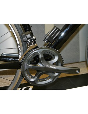 The Ultegra Di2 drivetrain