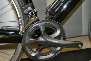 The Ultegra Di2 drivetrain