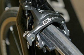 The only analogue part in the Ultegra Di2 setup