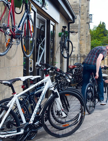 A good bike shop will take the time to set you up right
