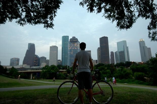 Houston is working on its friendliness toward bikes