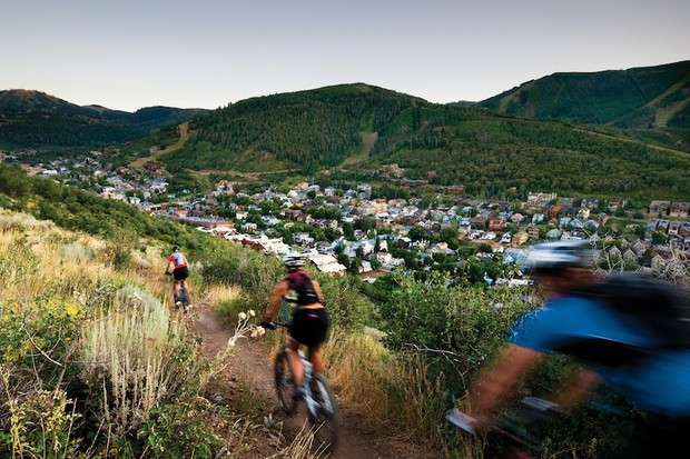 Riders descend on Park City, Utah