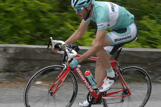 Our tester Jamie Wilkins puts the Bianchi Impulso through its paces in the foothills of the Italian Alps