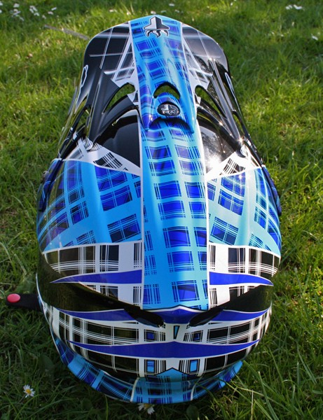 THE .5 full-face helmet