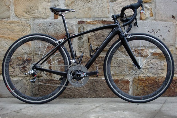 The 2012 Specialized S-Works Amira was launched in Bilbao, Spain