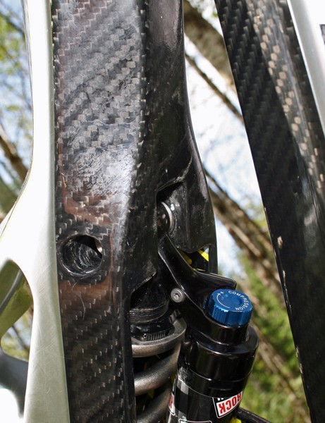 If your frame's made of carbon fibre, you might as well show it off