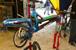 This is the specially painted GT Fury that Marc Beaumont ran at the 2011 World Championships