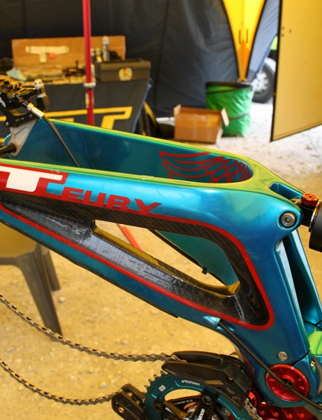 It'll be interesting to see what GT come up with for Mark at this year's World Championships in Champery