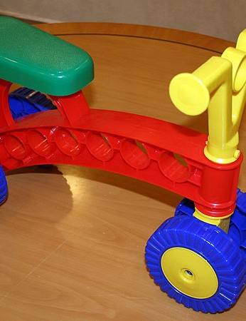 Toddlebike's are suitable for children aged one to three