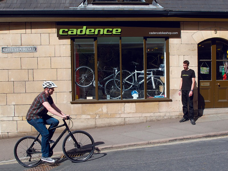 A spin round the block will help you decide if a bike is right for you