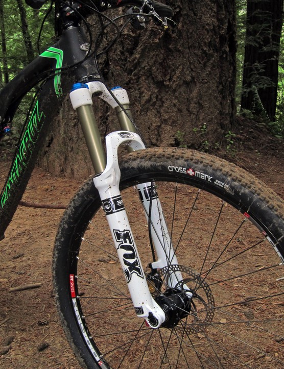 Fox Racing Shox provides Santa Cruz with a custom 130mm-travel version of its 32 Float FIT RLC fork