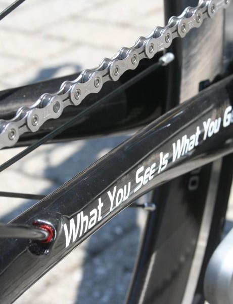 Cinelli WYSIWIG time trial bike