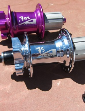 Acros .75 and .75FR hubs represent one and two steps more robust than the .74 cross-country hubs
