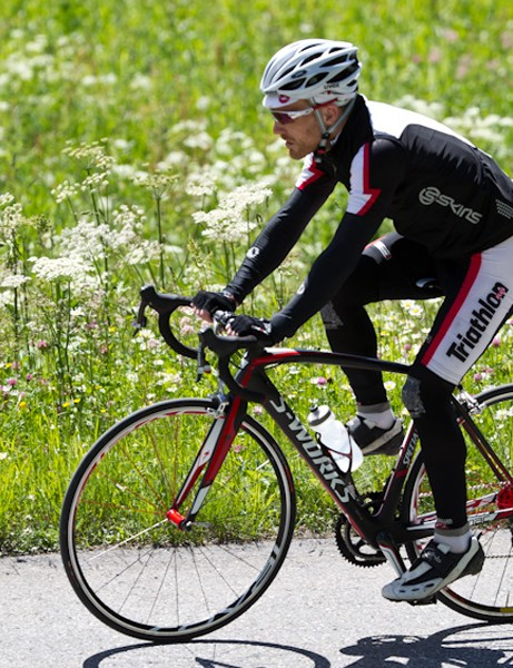 We ride the Specialized Tarmac SL4