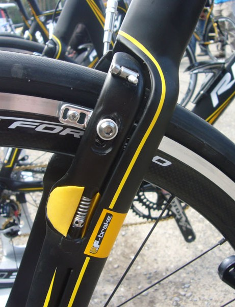 The integrated rear brake