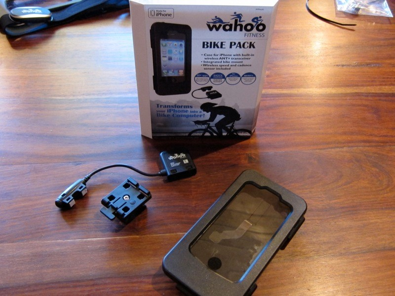 Wahoo's $149.99 'bike pack' has all you need to turn your iPhone into a fully featured data capture device