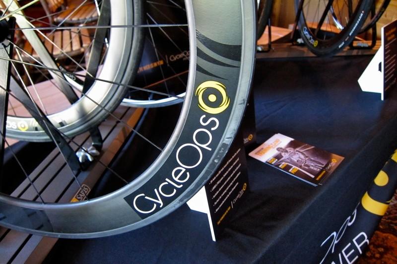 CycleOps 65mm carbon Enve rim