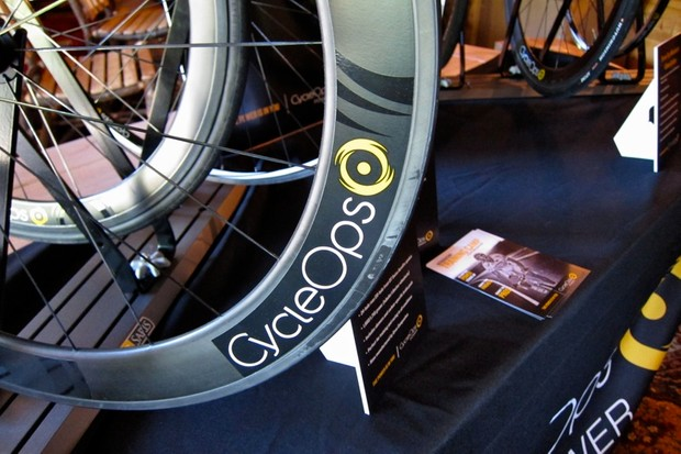 CycleOps 65mm carbon Enve rim