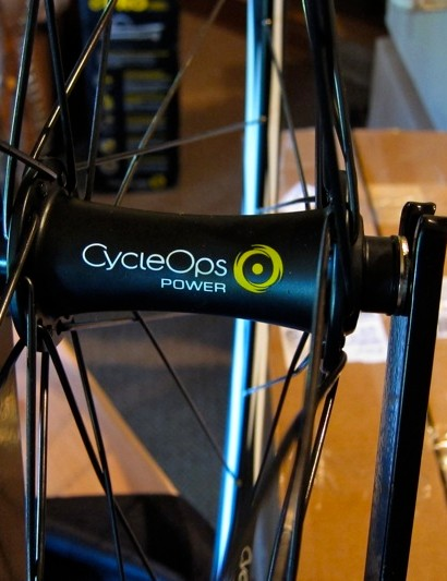 CycleOps will use the same sealed cartridge bearing front hub for all of the wheelsets