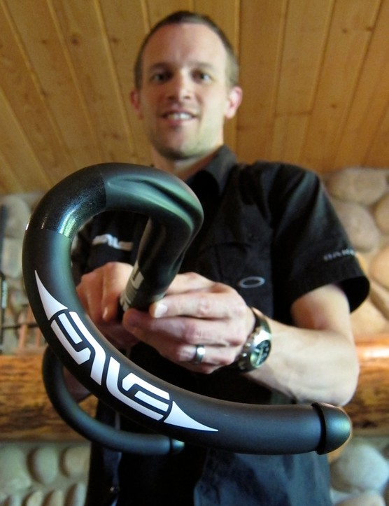 Kevin Nelson presents Enve's new compact road bar