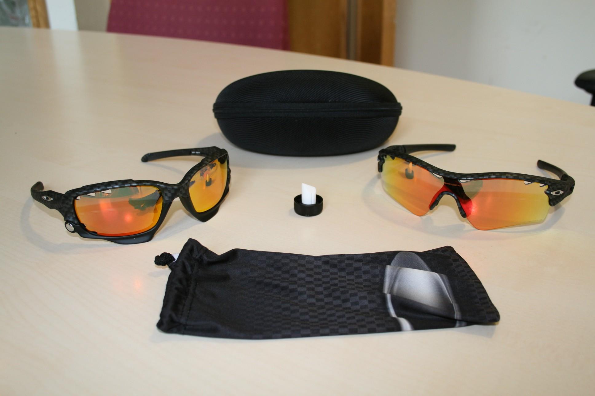 Oakley Echelon Jawbone and Radar